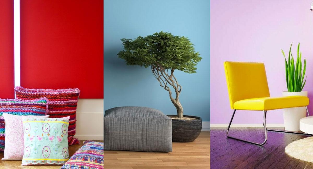 Il colore giusto per le pareti di casa? Ecco come trovare la migliore combinazione per la tua abitazione